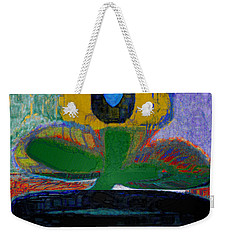 Abstract Floral Art 243 Weekender Tote Bag