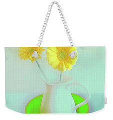 Abstract Floral Art 273 Weekender Tote Bag