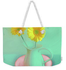 Abstract Floral Art 282 Weekender Tote Bag