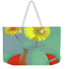 Abstract Floral Art 301 Weekender Tote Bag