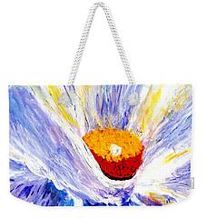 Abstract Floral Painting 001 Weekender Tote Bag
