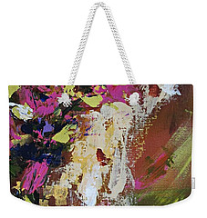 Abstract Floral Study Weekender Tote Bag