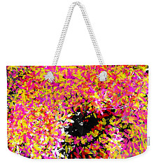Abstract Floral Swirl No.3 Weekender Tote Bag