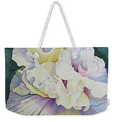 Abstract Floral Weekender Tote Bag by Teresa Beyer