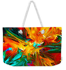 Abstract Flow 1 Weekender Tote Bag