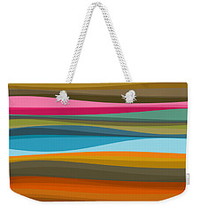 Abstract Flow Weekender Tote Bag
