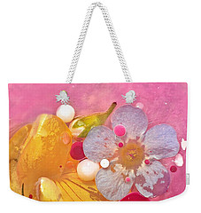Abstract Flower 4 Weekender Tote Bag