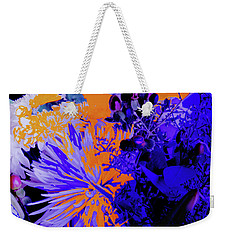 Abstract Flowers Of Light Series #1 Weekender Tote Bag