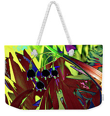 Abstract Flowers Of Light Series #10 Weekender Tote Bag