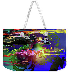 Abstract Flowers Of Light Series #11 Weekender Tote Bag