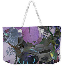 Abstract Flowers Of Light Series #12 Weekender Tote Bag