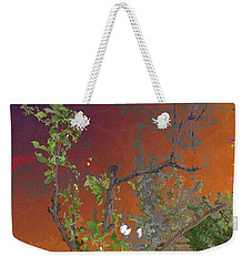 Abstract Flowers Of Light Series #13 Weekender Tote Bag