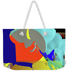 Abstract Flowers Of Light Series #14 Weekender Tote Bag