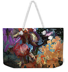 Abstract Flowers Of Light Series #15 Weekender Tote Bag