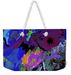 Abstract Flowers Of Light Series #18 Weekender Tote Bag