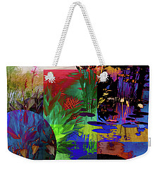 Abstract Flowers Of Light Series #19 Weekender Tote Bag