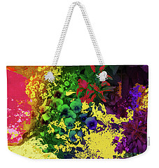Abstract Flowers Of Light Series #2 Weekender Tote Bag