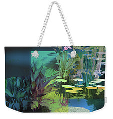 Abstract Flowers Of Light Series #20 Weekender Tote Bag
