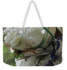 Abstract Flowers Of Light Series #3 Weekender Tote Bag