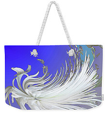 Abstract Flowers Of Light Series #4 Weekender Tote Bag