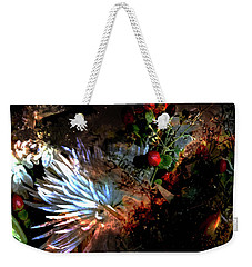 Abstract Flowers Of Light Series #5 Weekender Tote Bag