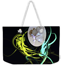 Abstract Flowers Of Light Series #6 Weekender Tote Bag