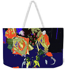 Abstract Flowers Of Light Series #8 Weekender Tote Bag
