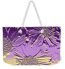 Abstract Flowers 3 Weekender Tote Bag