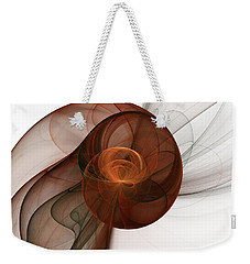 Abstract Fractal Art Weekender Tote Bag by Gabiw Art