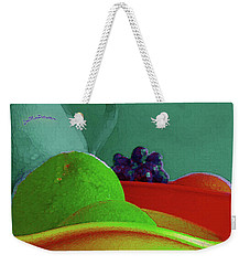 Abstract Fruit Art 85 Weekender Tote Bag