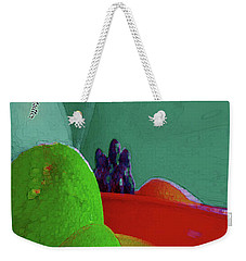 Abstract Fruit Art 88 Weekender Tote Bag