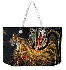 Abstract Gayu Weekender Tote Bag