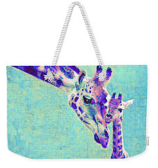 Abstract Giraffes Weekender Tote Bag