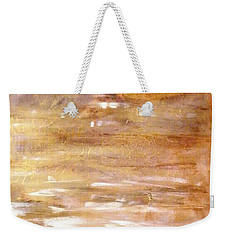 Abstract Golden Sunrise Beach  Weekender Tote Bag