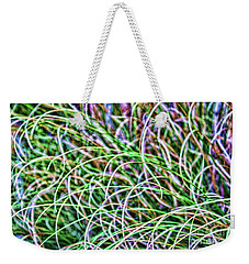 Abstract Grass Weekender Tote Bag