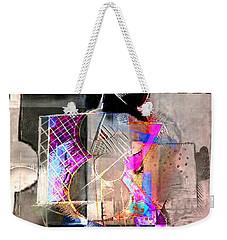 Abstract Guitar In Pink Weekender Tote Bag