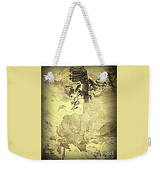Ancient Melodies Weekender Tote Bag