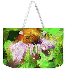 Weekender Tote Bag featuring the photograph Abstract Harmony by Jessica Manelis