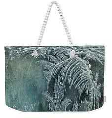 Abstract Ice Crystals Weekender Tote Bag