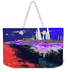 Abstract  Images Of Urban Landscape Series #14 Weekender Tote Bag