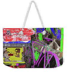 Abstract  Images Of Urban Landscape Series #3 Weekender Tote Bag
