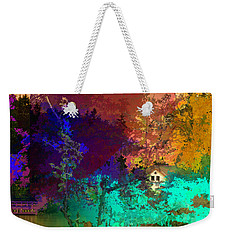 Abstract  Images Of Urban Landscape Series #4 Weekender Tote Bag