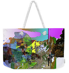 Abstract  Images Of Urban Landscape Series #5 Weekender Tote Bag