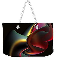 Abstract In 3d Weekender Tote Bag