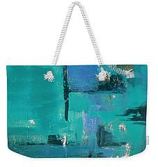 Abstract In Blue Weekender Tote Bag