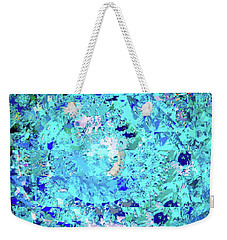 Abstract In Blue No. 56-2 Weekender Tote Bag