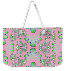 Abstract In Pastels Weekender Tote Bag by Linda Phelps