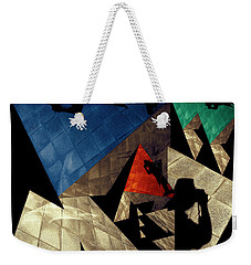 Weekender Tote Bag featuring the photograph Abstract Iterations by Wayne Sherriff