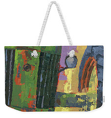Abstract Johnny Weekender Tote Bag