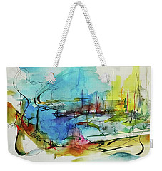 Abstract Landscape #1 Weekender Tote Bag